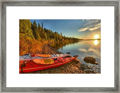 Royale Sunrise Framed Print