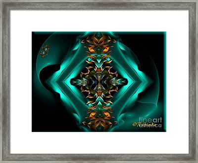Royalty - Abstract Art By Giada Rossi Framed Print by Giada Rossi