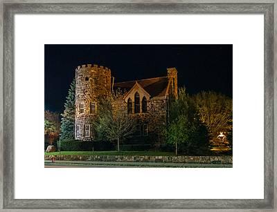 Roycroft Chapel Framed Print by Guy Whiteley