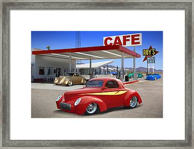 Roy's Gas Station 2 Framed Print by Mike McGlothlen