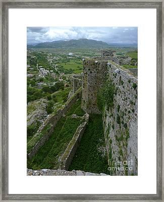 Rozafa Castle - Albania Framed Print