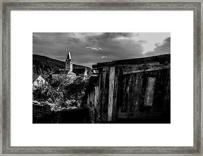 Rozmberk Nad Vltavou Framed Print