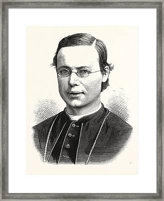 Rt. Rev. Michael A. Corrigan, D.d., 1839 - 1902 Framed Print by American School