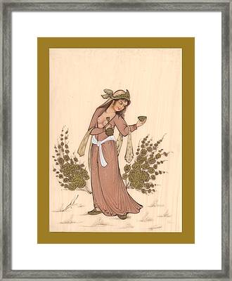 Rubaiyat Framed Print by Herbert French