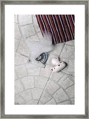 Rubber Duck Framed Print by Joana Kruse