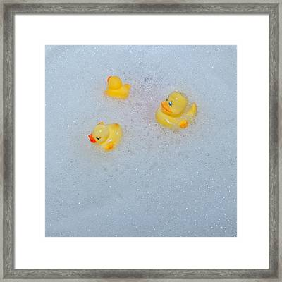 Rubber Ducks Framed Print by Joana Kruse