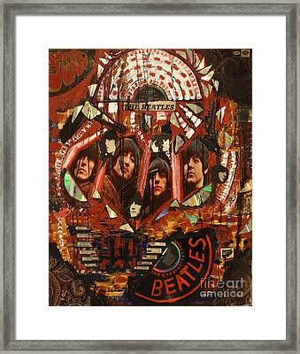 Rubber Soul Framed Print by Michael Kulick