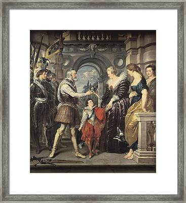 Rubens, Peter Paul 1577-1640. Henri Iv Framed Print