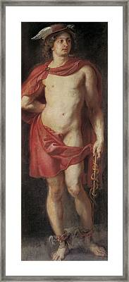 Rubens, Peter Paul 1577-1640. Mercury Framed Print by Everett