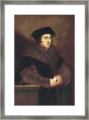 Rubens, Peter Paul 1577-1640. Thomas Framed Print by Everett