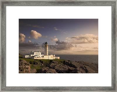 Rubha Reidh - Lighthouse Framed Print