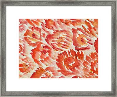 Rubicund Sea Framed Print by Sonali Gangane