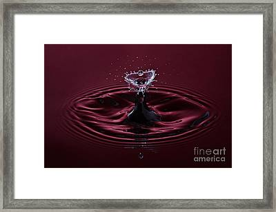 Rubies And Diamonds Framed Print by Susan Candelario
