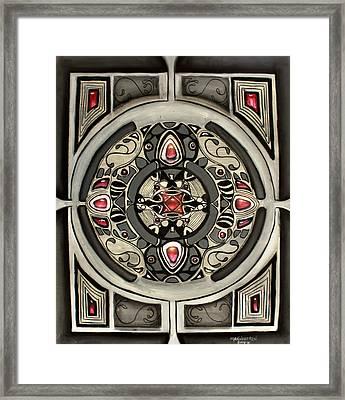 Rubies Framed Print by Melissa Herrin