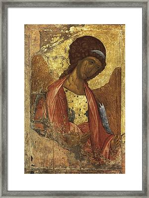 Rublyov, Andrey 1360-1430. Archangel Framed Print by Everett