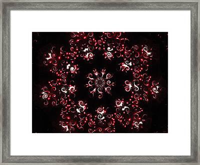 Rubosity Framed Print by Lisa Brandel