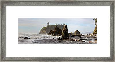 Ruby Beach Framed Print