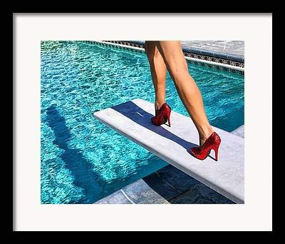 Heel Framed Prints
