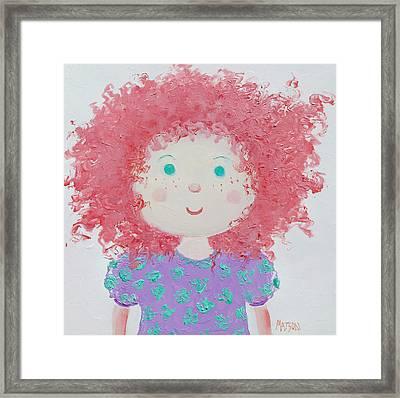 Ruby Framed Print
