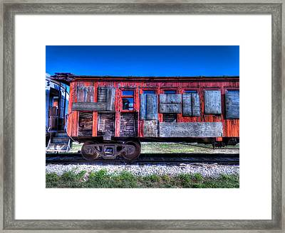 Ruby On Rails Framed Print by Micah Goff