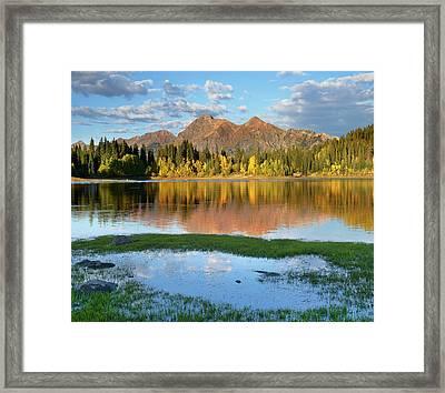 Ruby Range From Lost Lake Slough Framed Print