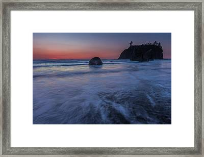 Ruby Twilight Framed Print