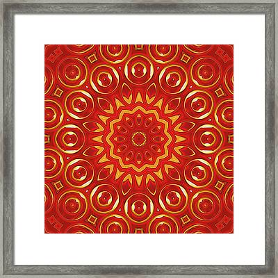 Ruby - For Metallic Paper Framed Print