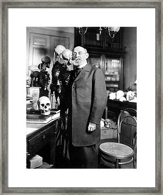 Rudolf Virchow Framed Print by National Library Of Medicine