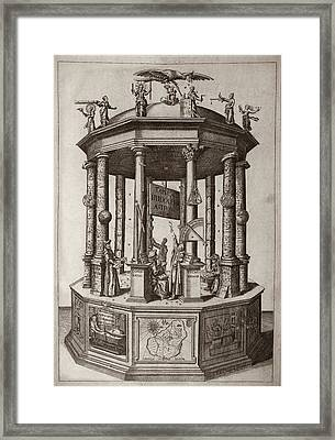 'rudolphine Tables' (1627) Framed Print