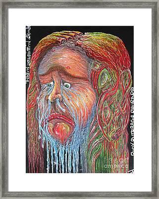 Rudy Rutabaga Rhubarb Framed Print