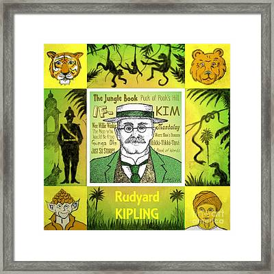 Rudyard Kipling Framed Print by Paul Helm