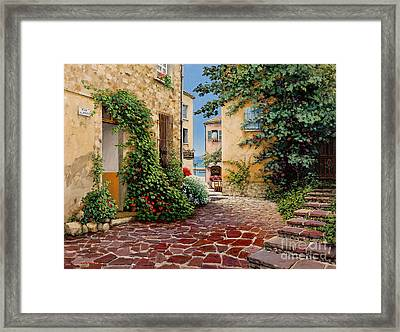 Rue Anette Framed Print by Michael Swanson