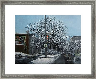 Rue St Jacques Framed Print by Reb Frost