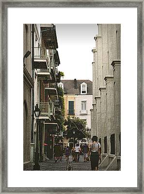 Pere Antoine Alley Framed Print