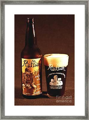 Ruffian Ale Framed Print