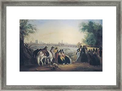 Rugendas, Johann Moritz 1802-1858 Framed Print by Everett