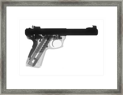 Ruger 22 45 Framed Print by Ray Gunz