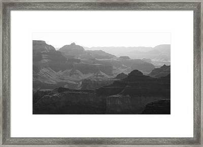 Rugged Framed Print by Arkady Kunysz