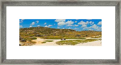 Rugged Eastern Side Of An Island, Aruba Framed Print by Panoramic Images
