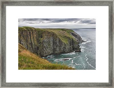Framed Print featuring the photograph Rugged Landscape by Eunice Gibb