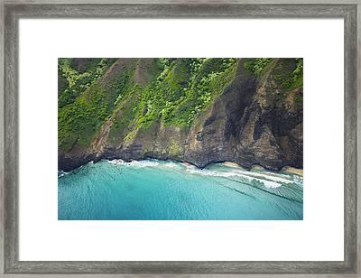 Rugged Na Pali Coast Framed Print