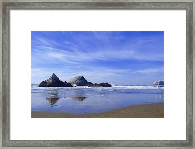 Rugged Reflections Framed Print