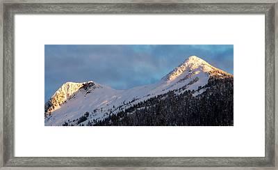 Rugged Ridge Framed Print