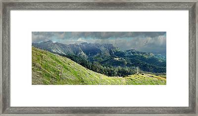 Ruggedly Wild Framed Print by Stan Angel