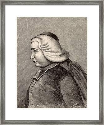 Ruggero Boscovich Framed Print by Universal History Archive/uig