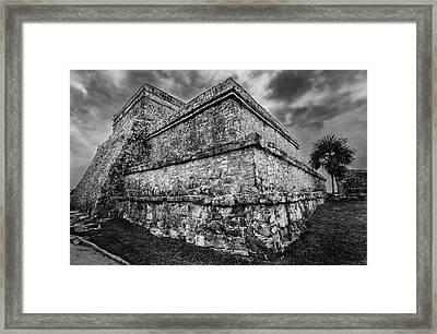 Ruin At Tulum Framed Print