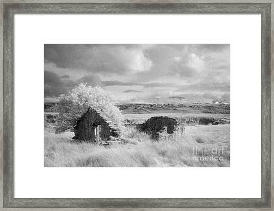 Ruin Mount Ross Station Otago Framed Print