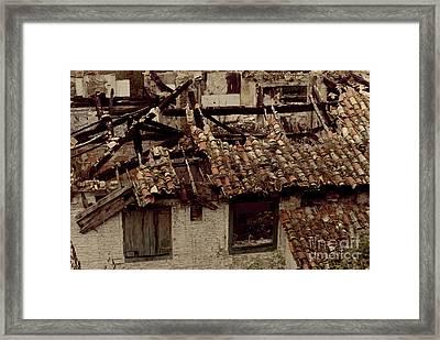 Ruina_02 Framed Print by Isusko Goldaraz
