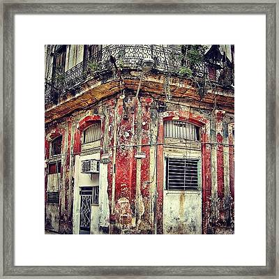 Ruins - Havana once Upon A Time Framed Print