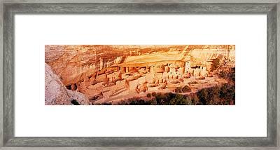 Ruins, Cliff Palace, Mesa Verde Framed Print